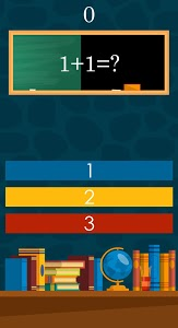 screenshot of 1 + 2 is 3 ? challenging math game version 1.0.2
