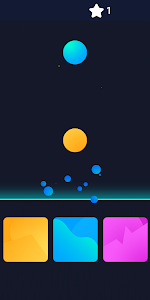 screenshot of 100 Balls - Tap to Beat the Color Ball Game version 1.0.0