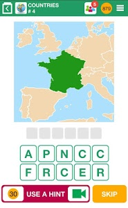 screenshot of 100 PICS Quiz - guess the picture trivia games version Varies with device