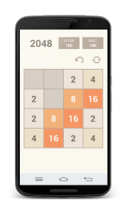 screenshot of 2048 version 3.27