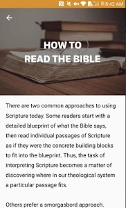 screenshot of Bible Study - Study The Bible By Topic version 2.7.0