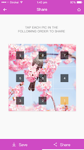screenshot of 9Cut For Instagram version 1.0.0