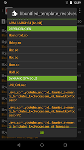 screenshot of APK Analyzer version 1.2.0