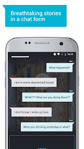 screenshot of Abyss — Thrilling Chat Stories version 2.6.1