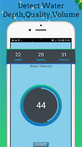 screenshot of Advanced Water Detector V Premium : Free Simulator version 5.1.1