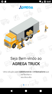 screenshot of Agrega Truck version 1.3.0