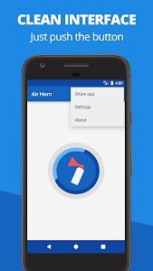screenshot of Air Horn (Infinite) version 2.3.0