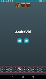 screenshot of AndroVid - Video Editor version 3.2.4