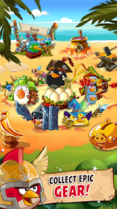 screenshot of Angry Birds Epic RPG version 3.0.27463.4821