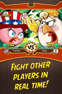screenshot of Angry Birds Fight! RPG Puzzle version 1.0.0