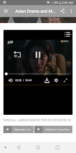 screenshot of Asian Drama and Movies version 1.4