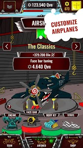 screenshot of Aviator - idle clicker game version 1.9.59