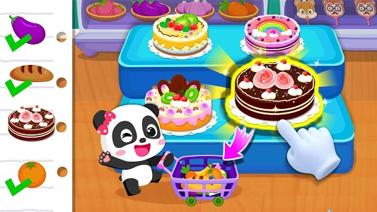 screenshot of Baby Panda's Supermarket version 8.39.00.08