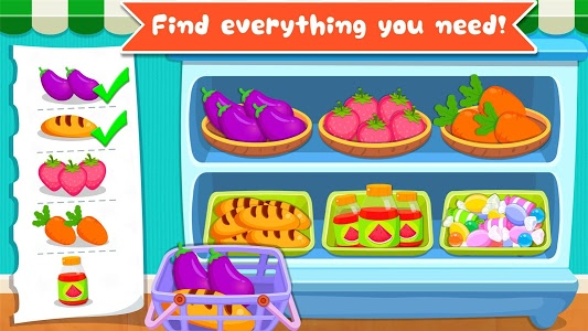 screenshot of Baby Panda's Supermarket version 8.8.7.22