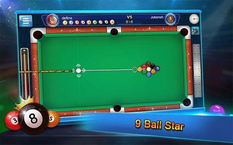 screenshot of Ball Pool Billiards & Snooker, 8 Ball Pool version 1.2.6