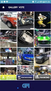 screenshot of Bangkok Motor Show version 1.8