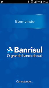 screenshot of Banrisul version 1.52.0.3