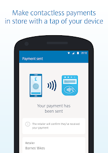 screenshot of Barclays Mobile Banking version 1.81