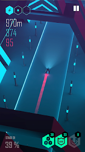 screenshot of Beat Racer version 2.0.1