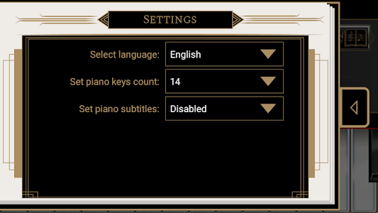 screenshot of Best Piano Lessons Mozart version 1.0.2