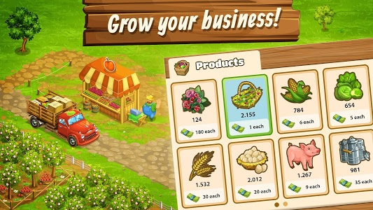 screenshot of Big Farm: Mobile Harvest – Free Farming Game version 2.16.3563