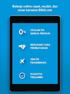 screenshot of Blibli.com Belanja Online version 3.9.6