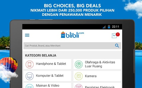 screenshot of Blibli.com Belanja Online version 3.5.0