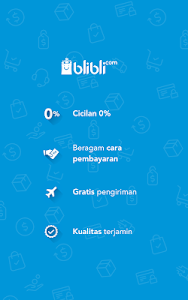 screenshot of Blibli.com Belanja Online Shop ala Mall version 5.1.0