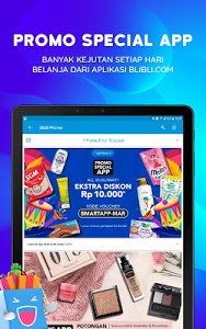 screenshot of Blibli.com - Online Mall version 5.8.0