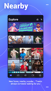 screenshot of Blued - Gay Chat & Video Call & Meet version 2.9.10
