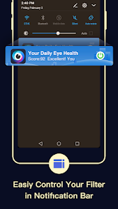 screenshot of Blue Light Filter – Screen Dimmer for Eye Care version 3.3.0.6
