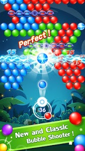 screenshot of Bubble Shooter version 1.2.0