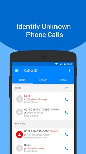 screenshot of Caller ID - Who Called Me, Call Location Tracker version 1.2.5