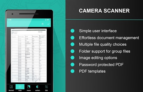 screenshot of Camera Scanner Image Scanner version 2.0.4