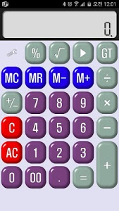 screenshot of Cami Calculator version 1.8.6