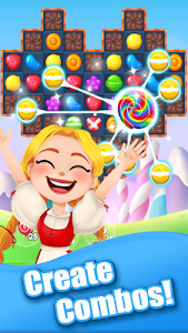 screenshot of Candy Girl - Cute Match 3 Puzzle Game version 1.3.9