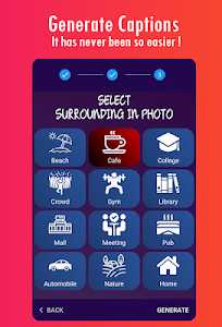 screenshot of Captions for Photos 2019 version 4.2