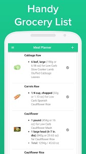 screenshot of Carb Manager - Keto & Low Carb Diet Tracker version 1.3.1