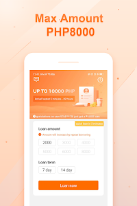 screenshot of Cashme——Easy and fast loan peso pera online version 1.5.4