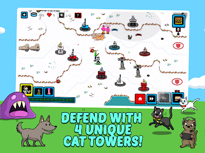 screenshot of Cats & Cosplay: Tower Defense (A Cat Kingdom Rush) version 4.0.3