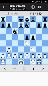 screenshot of Chess Tactics Pro (Puzzles) version 3.26