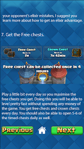 screenshot of Chests & Gems for Clash Royale version 2.0.463.5