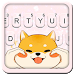 Download Chubby Puppy Tongue Keyboard Theme 1.0 APK