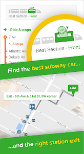 screenshot of Citymapper - the ultimate urban transit app version Varies with device