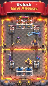 screenshot of Clash Royale version 2.6.1