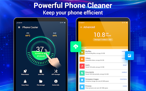 screenshot of Cleaner - Phone Booster version 1.8.0