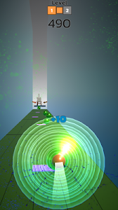 screenshot of Color Hop: 3D Ball Bouncing Game version 2.1