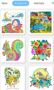 screenshot of Color Me – Color by Number version 1.2.2