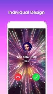 screenshot of Color Phone - Call Screen Flash Themes version 1.1.5