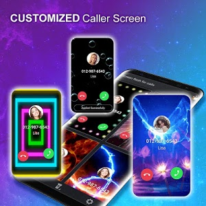 screenshot of Color Phone - Call Screen Flash Themes version 1.2.6